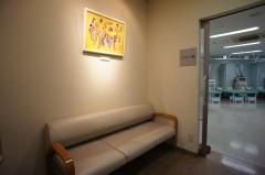 リハビリルーム前 待合室